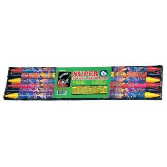 Super 6-Ounce Rocket Assortment