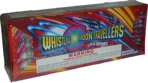 Whistling Bottle Rockets With Report [20/12/12]