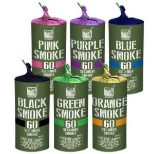 Pro Smoke (60 Second Duration - AssortedColors) [30/1]