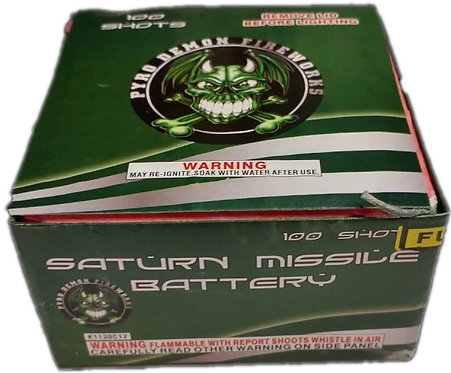 100 Shot Saturn Missile Battery