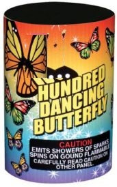 Hundred Dancing Butterfly