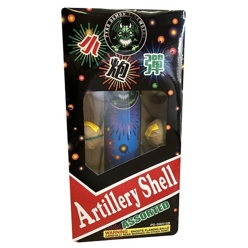 Black Box Artillery Ball Shells