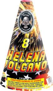 St. Helena Volcano Cone 8-Inch
