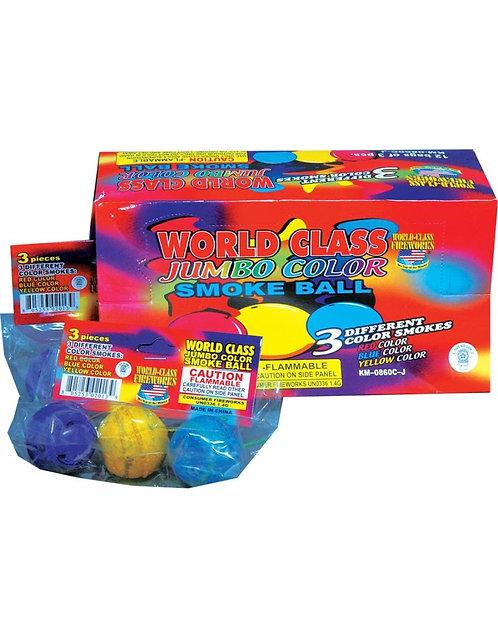 Jumbo Color Smoke Balls