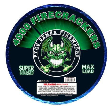 4,000 Shot Firecrackers Bandolier [4/1]