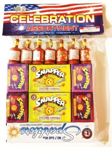 Celebration Novelty Assortment (Safe'n'Sane)