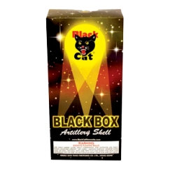Black Cat Box Artillery Shells