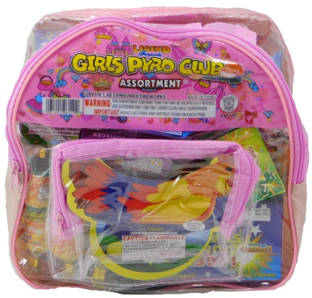 Girls Pyro Club - Backpack Assortment [10/1]