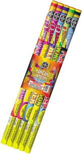 Roman Candles 5-Pack Assorted