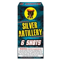 Premium Silver Artillery Shells With Tails