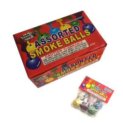 Clay Color Smoke Balls [20/12/6]