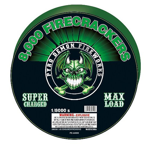 8,000 Shot Firecrackers Bandolier