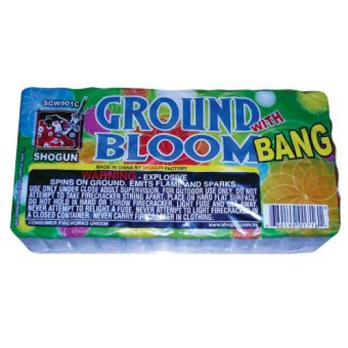 Ground Bloom With Bang