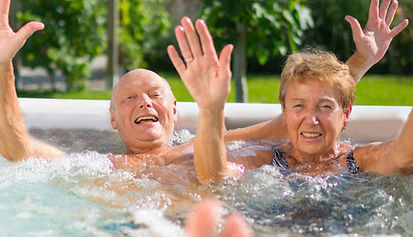 hot tub manage diabetes