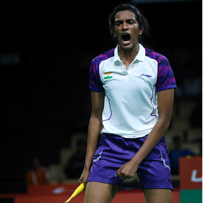 BOOMERANG! Welcome back PV Sindhu!