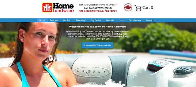 home hardware website design