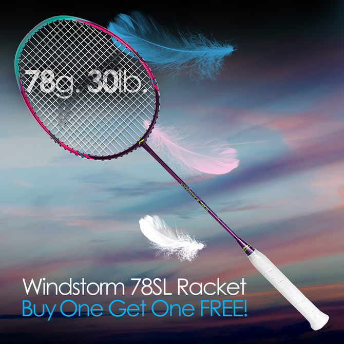 Windstorm 78SL III Badminton Racket