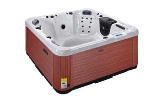 hot tubs owen sound quarter view