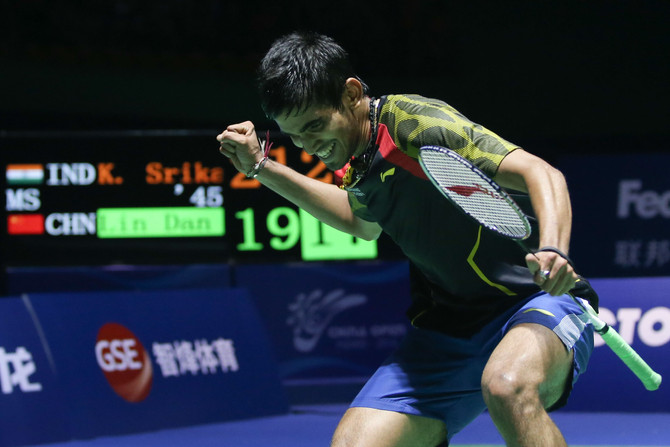 Kidambi Srikanth Returns Home to Li-Ning