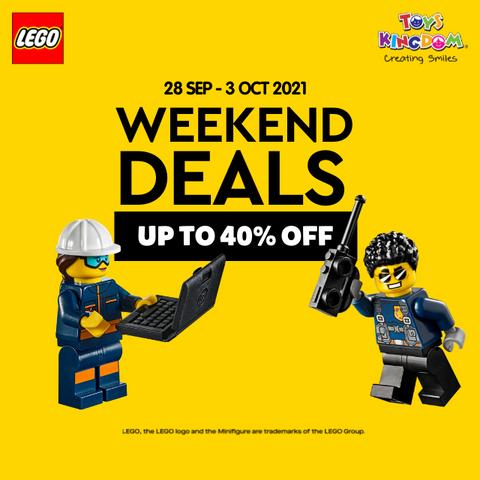 LEgo Weekend Deals