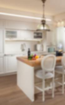 מטבח בפרויקט דירה במגדלי תל אביב של ליאת הראל - סטודיו לעיצוב פנים ואדריכלות