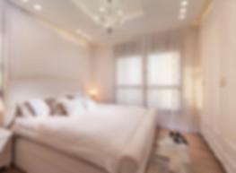 חדר שינה בפרויקט דירה במגדלי תל אביב של ליאת הראל - סטודיו לעיצוב פנים ואדריכלות