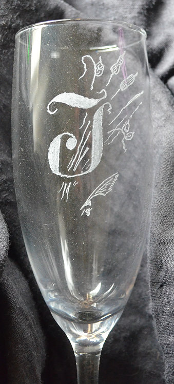 Champagne Flute J.