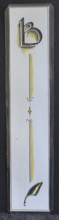 Uncial B Gold Diapery