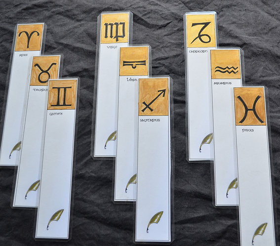 Horoscope Bookmarks