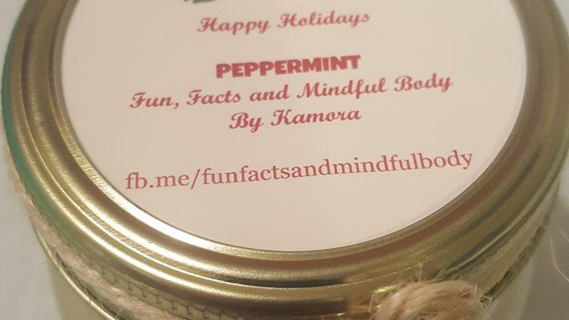 Peppermint Coconut Oil Scrub