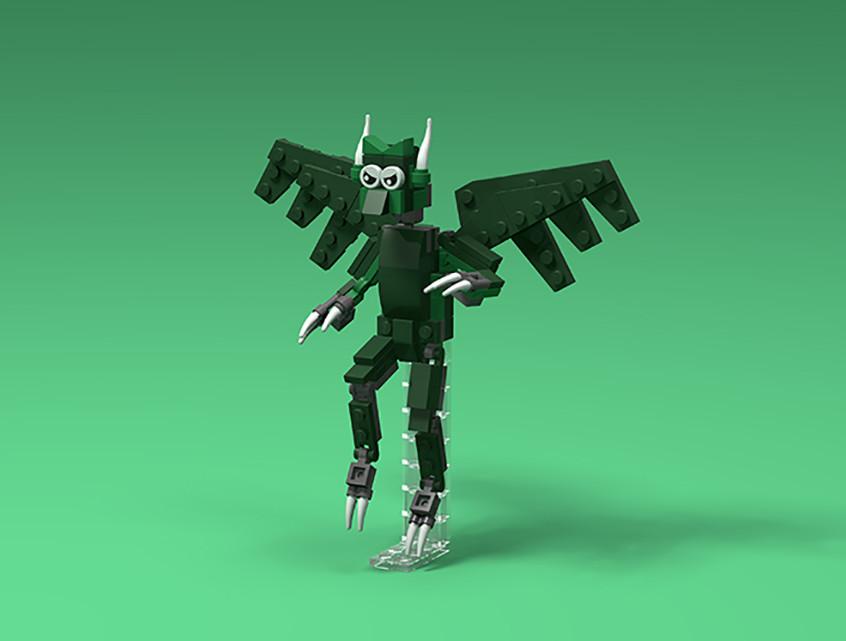 Brick Beasts - Imp