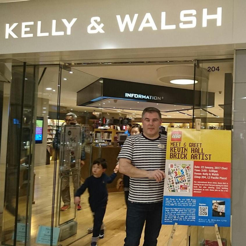 Kelly and Walsh meet and greet