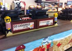 LEGOLAND Windsor - Burger Kitchen models