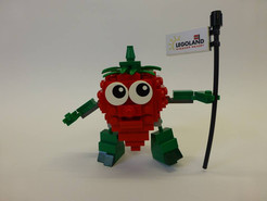 Promo Strawberry for Innocent Juice and LEGOLAND Windsor
