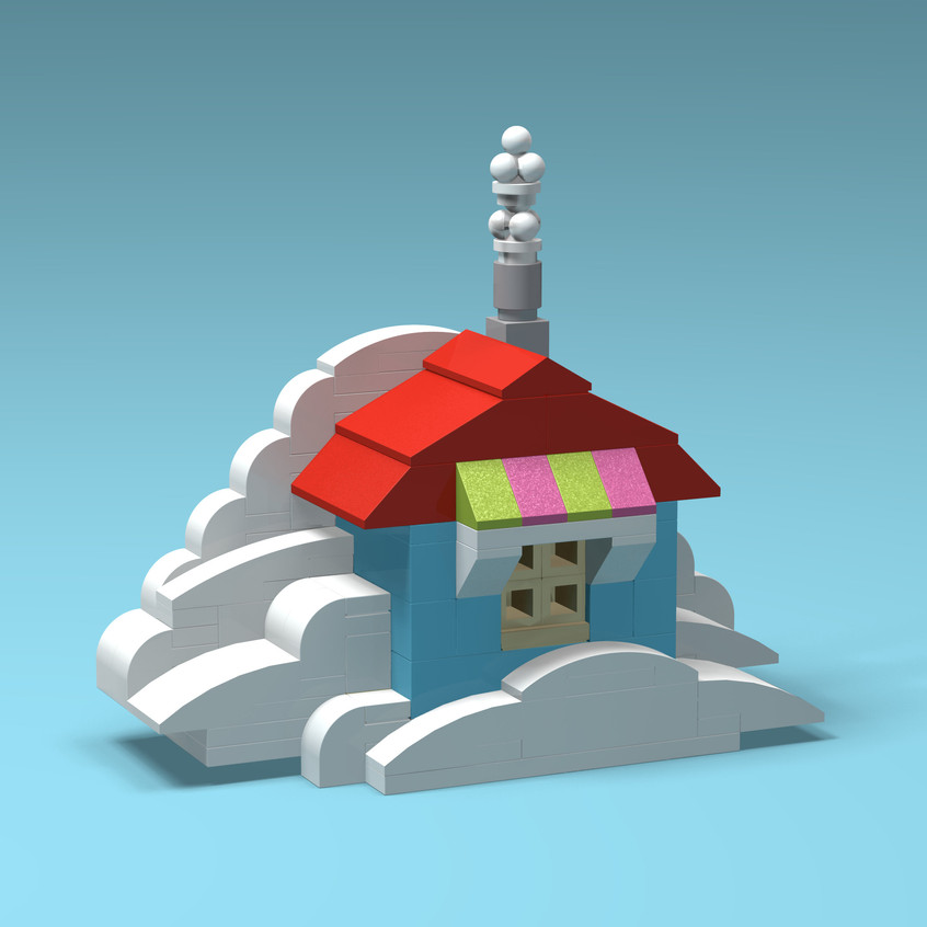 Brick Buildings - Cloud House
