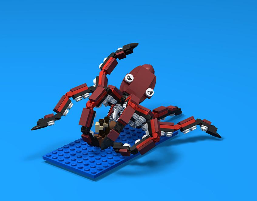 Brick Beasts - Kraken