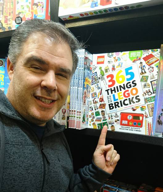 Kevin with the 365 book