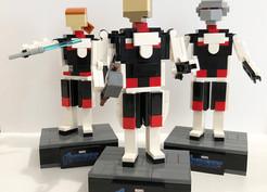 LEGO Figures for Avengers Actors