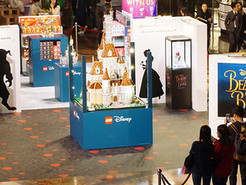 Beauty and the Beast Exhibition - for LEGO and Disney in Hong Kong