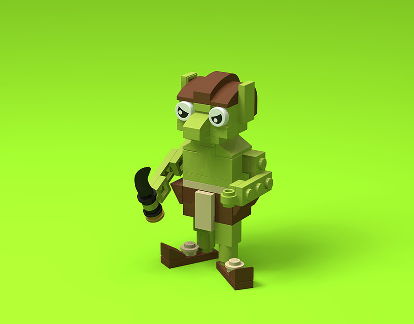 Brick Beasts - Goblin