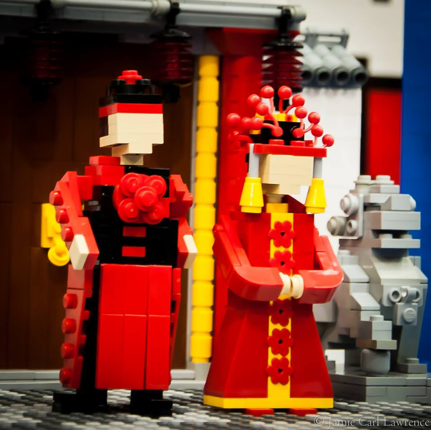 Brick Journal Chinese figures