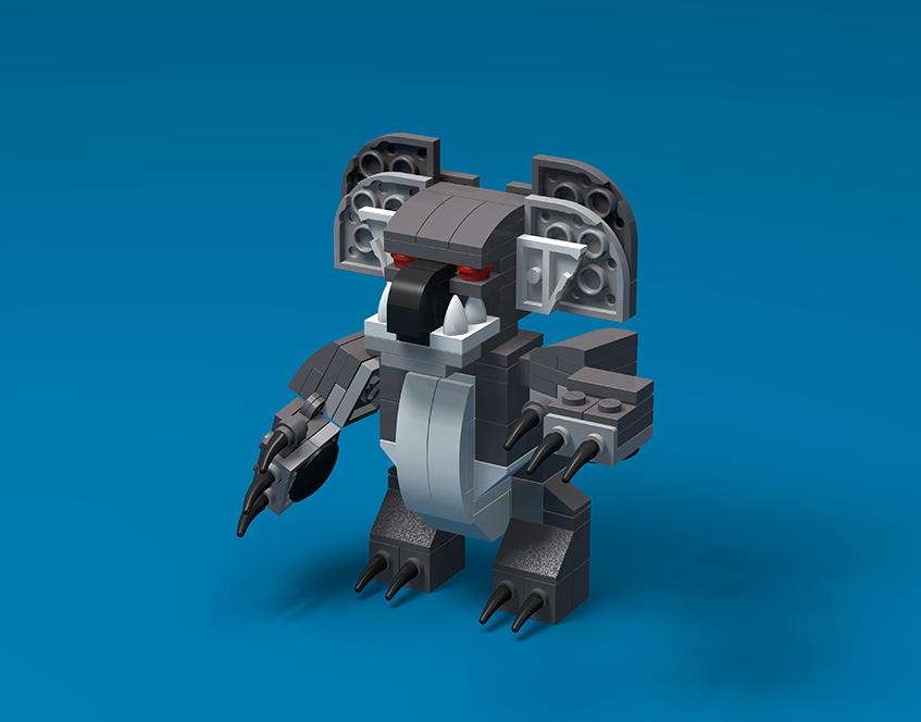 Brick Beasts - Drop Bear