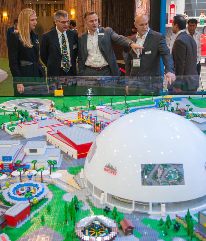 LEGOLAND Dubai scale model