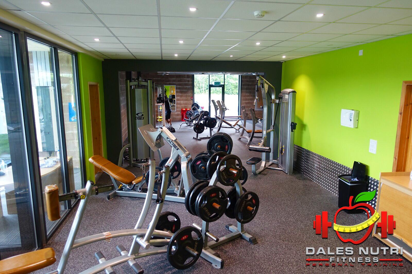 Downstairs (Free Weights Area)