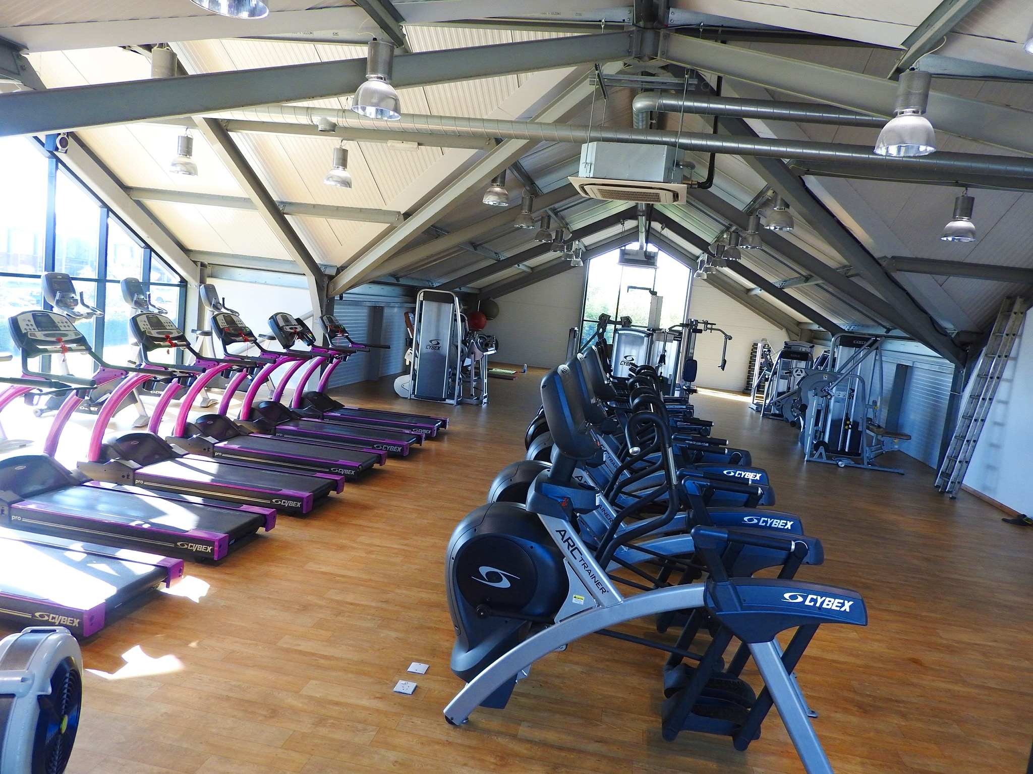 Upstairs (Cardio and Resistance Machines)