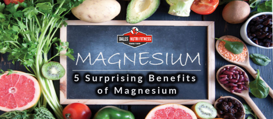 5 Surprising Benefits of Magnesium
