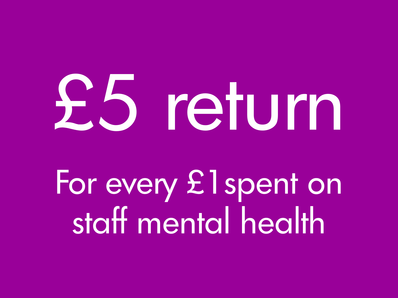 £5 return for every £1 spent