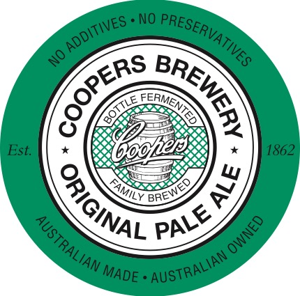 Coopers Original Pale Ale Logo - Bottle-