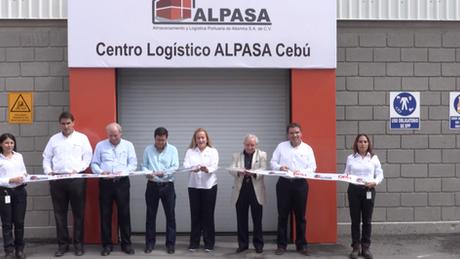 Inauguración del Centro Logístico ALPASA-CEBÚ