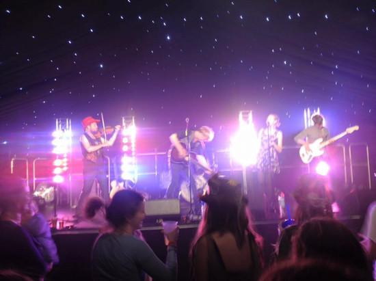 Imprints onstage